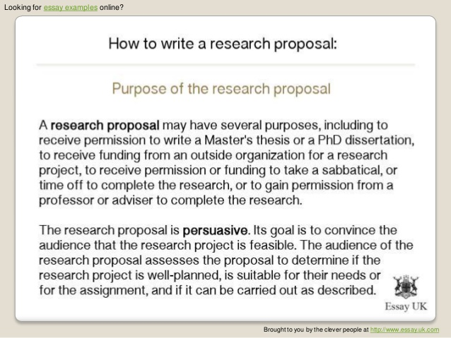 How to write dissertation proposal video