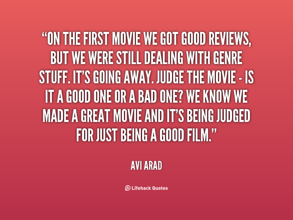 Good Quotes About Movies. QuotesGram