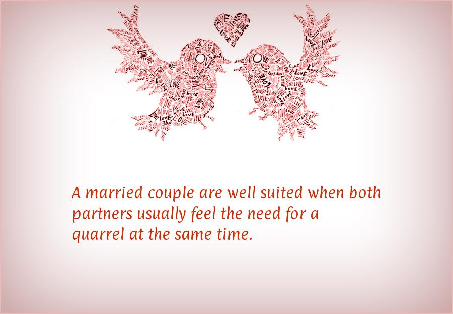 Quotes For Husband And Wife Quarrels: Funny Anniversary Quotes For Couples. QuotesGram