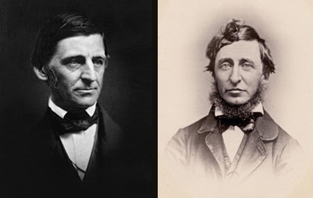 a comarison of the emerson and the toreau Emerson and thoreau comparison - literature essay example emerson and thoreau when prominent literary theorists come to mind.