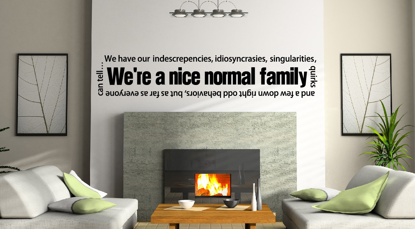 From Seword Wall Art Vinyl Lettering Home Decor ~ Family wall quotes quotesgram