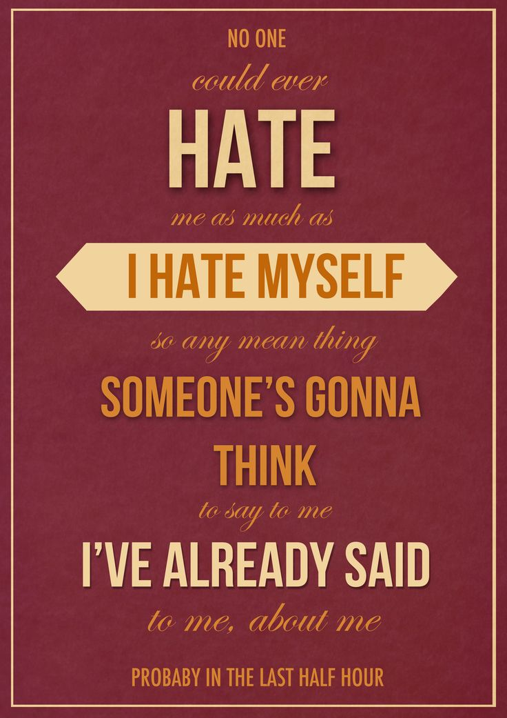 Nobody Likes Me Everybody Hates Me Quotes. QuotesGram