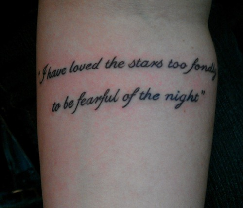 Star Tattoos With Quotes. QuotesGram