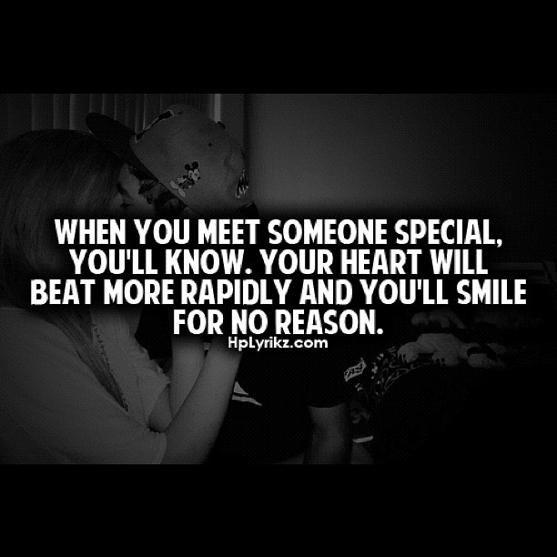 Special Person Quotes: Meeting Someone Special Quotes. QuotesGram