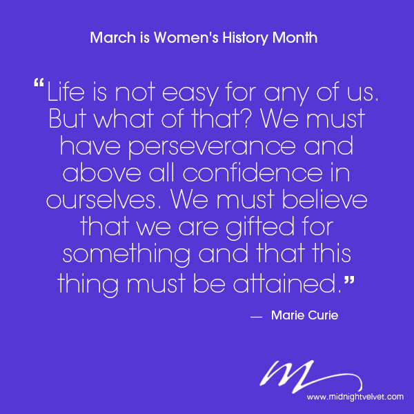 womens history month quotes quotesgram