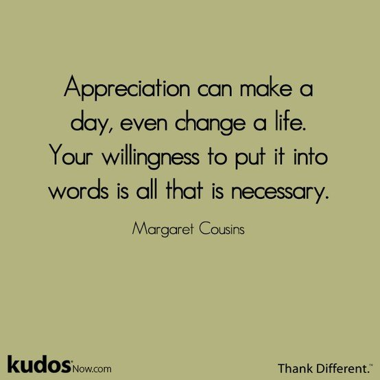 Work Appreciation Sayings And Quotes. QuotesGram