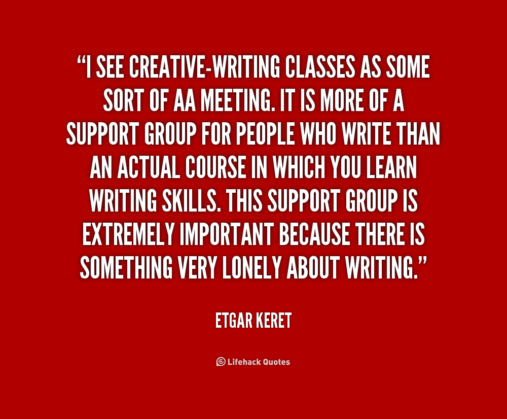 Creative writing stimulus quotes