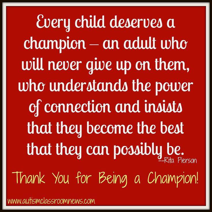 Autism Teacher Appreciation Quotes. QuotesGram