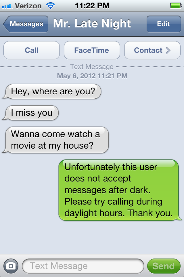 Texting night wife late at another man Girl is