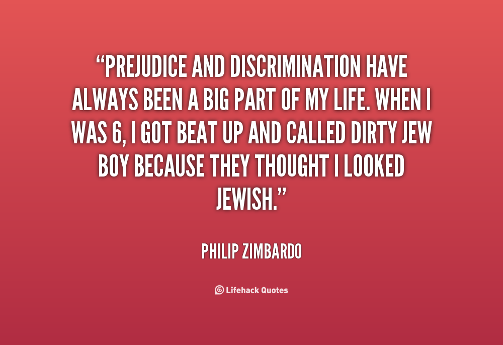 a school without discrimination and prejudice essay