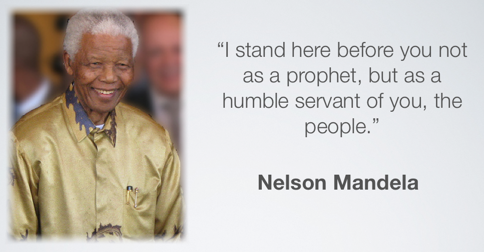 neslon mandela leadership Nelson mandela was born on july 18 1918 in the village of mvezo in the rural   by the moderate stance of the party's elderly leadership.