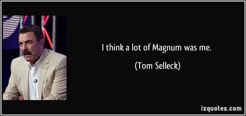Thomas magnum quotes