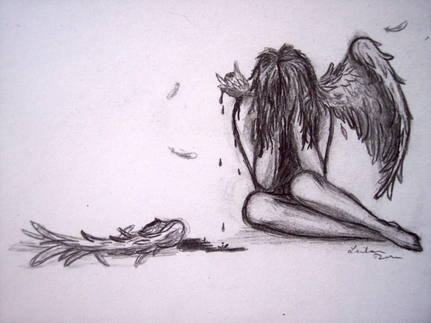 элегантность, грустный ангел картинки карандашом питательная