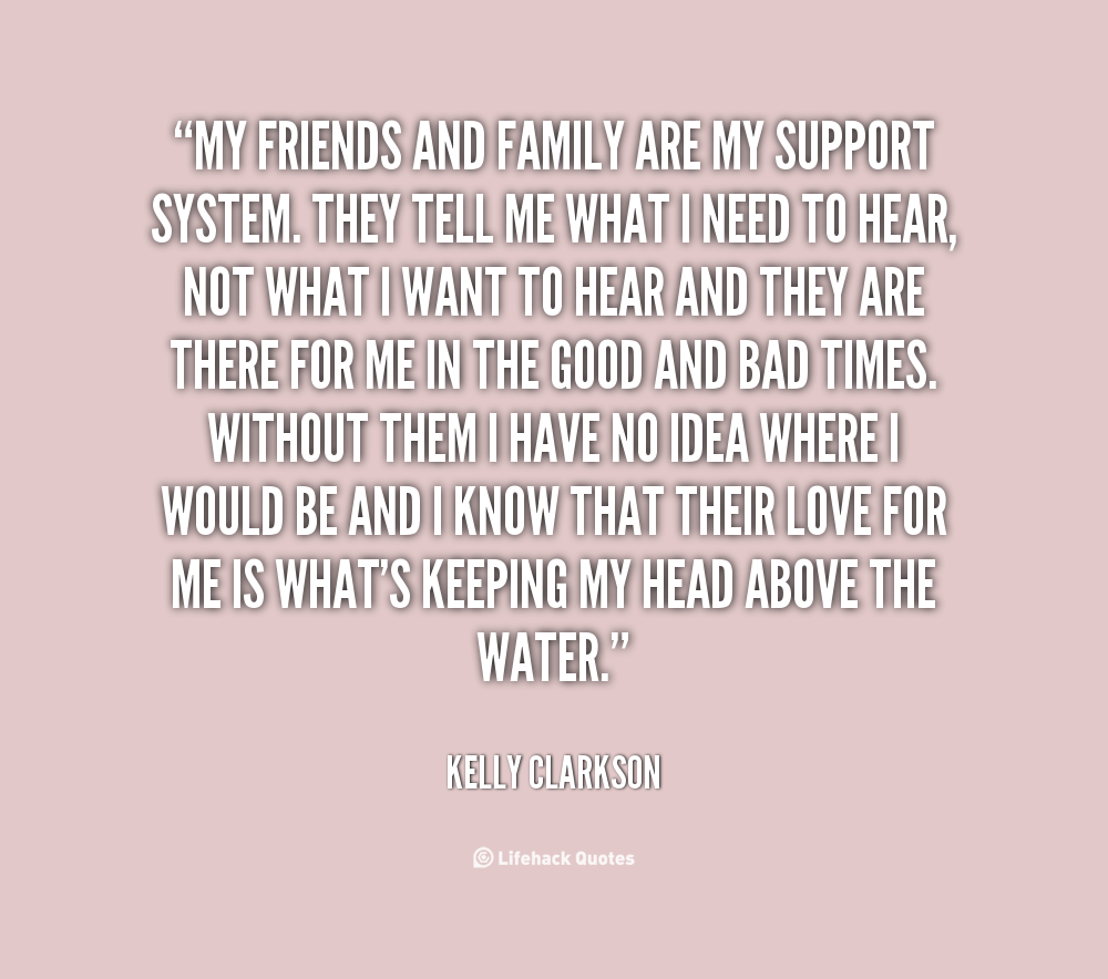 Quotes About Parents Love And Support Family Support ...