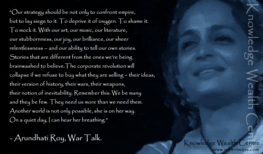 Another World Arundhati Roy Quotes Quotesgram