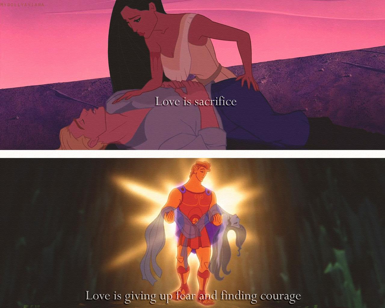 sad love quotes disney quotesgram
