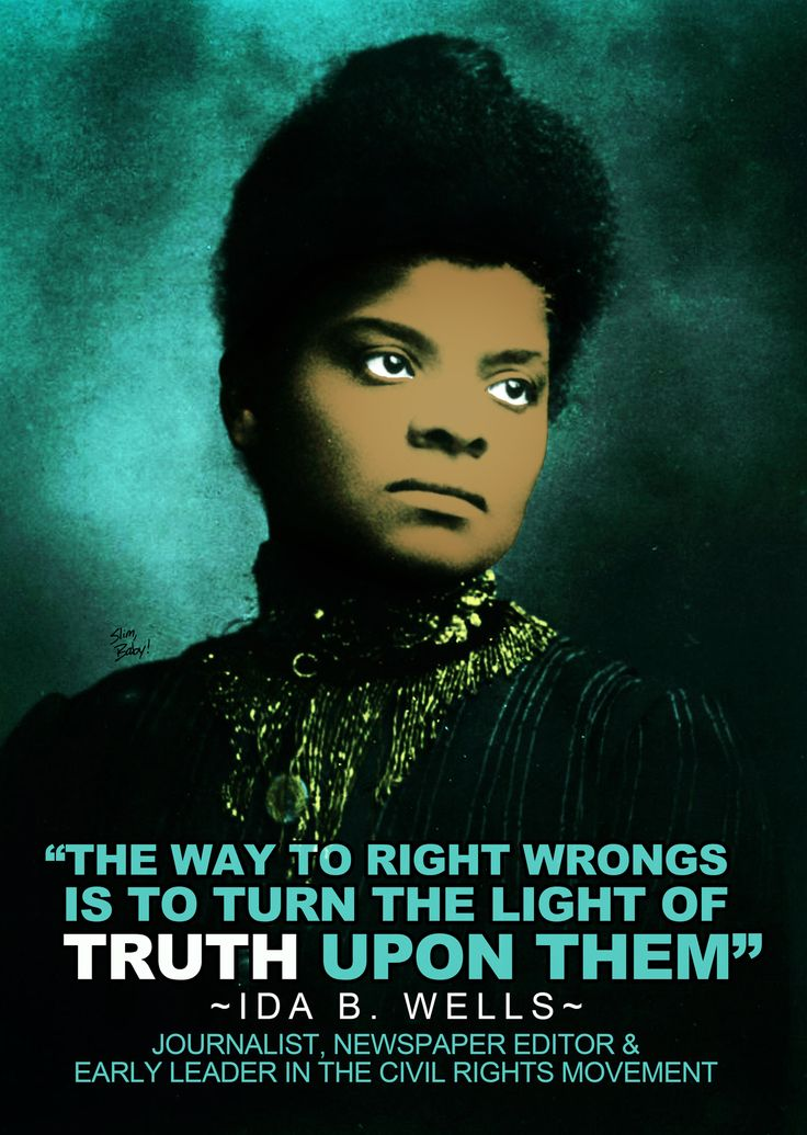 they say ida b wells thesis After the fact: the art of final days freedmen friends frontier frontier thesis girls harpers ferry historians huey huey long immigrants 'they say': ida b.