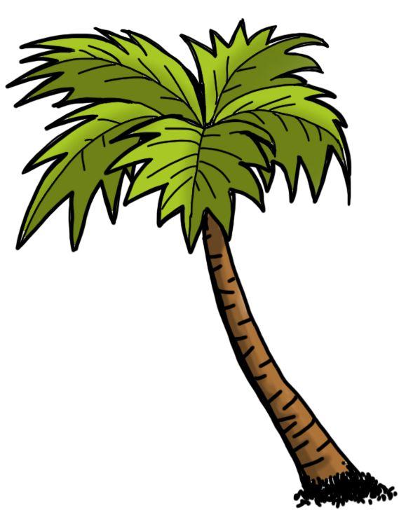 Для, пальма картинки нарисованные