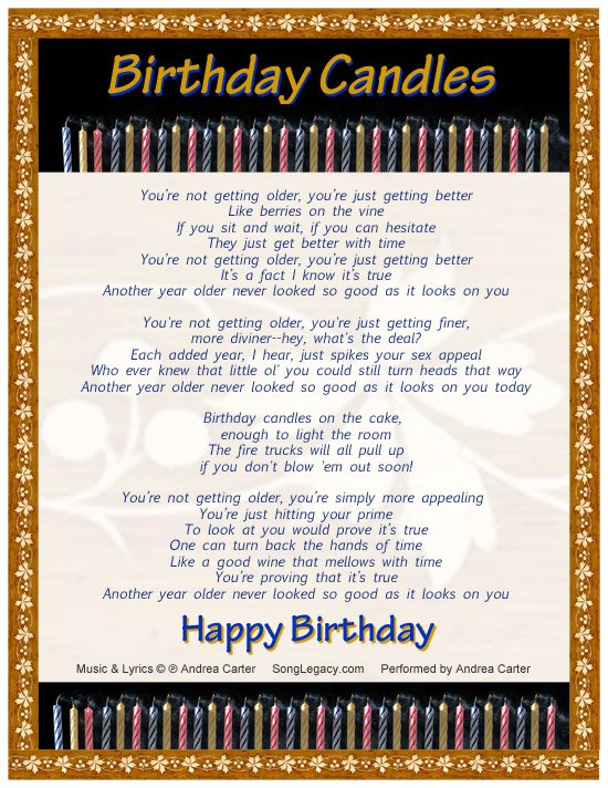 Birthday Music Quotes Quotesgram