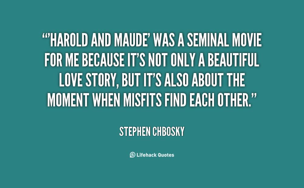 Harold and maude essay life