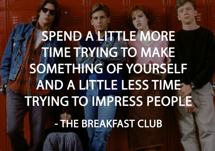 The Best Breakfast Club Quotes. QuotesGram  |Breakfast Club Quotes