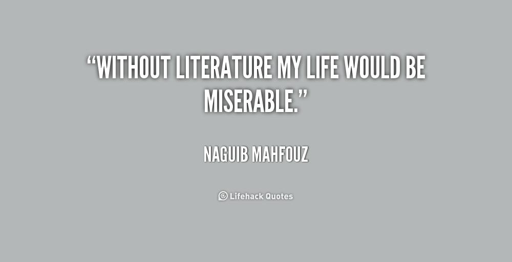 literature in my life Encuentra how literature saved my life de david shields (isbn: 9780345802729) en amazon envíos gratis a partir de 19.