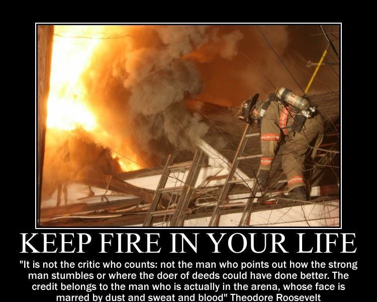 Firefighter Motivational Quotes. QuotesGram