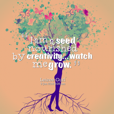 Quotes Growing Seeds. QuotesGram