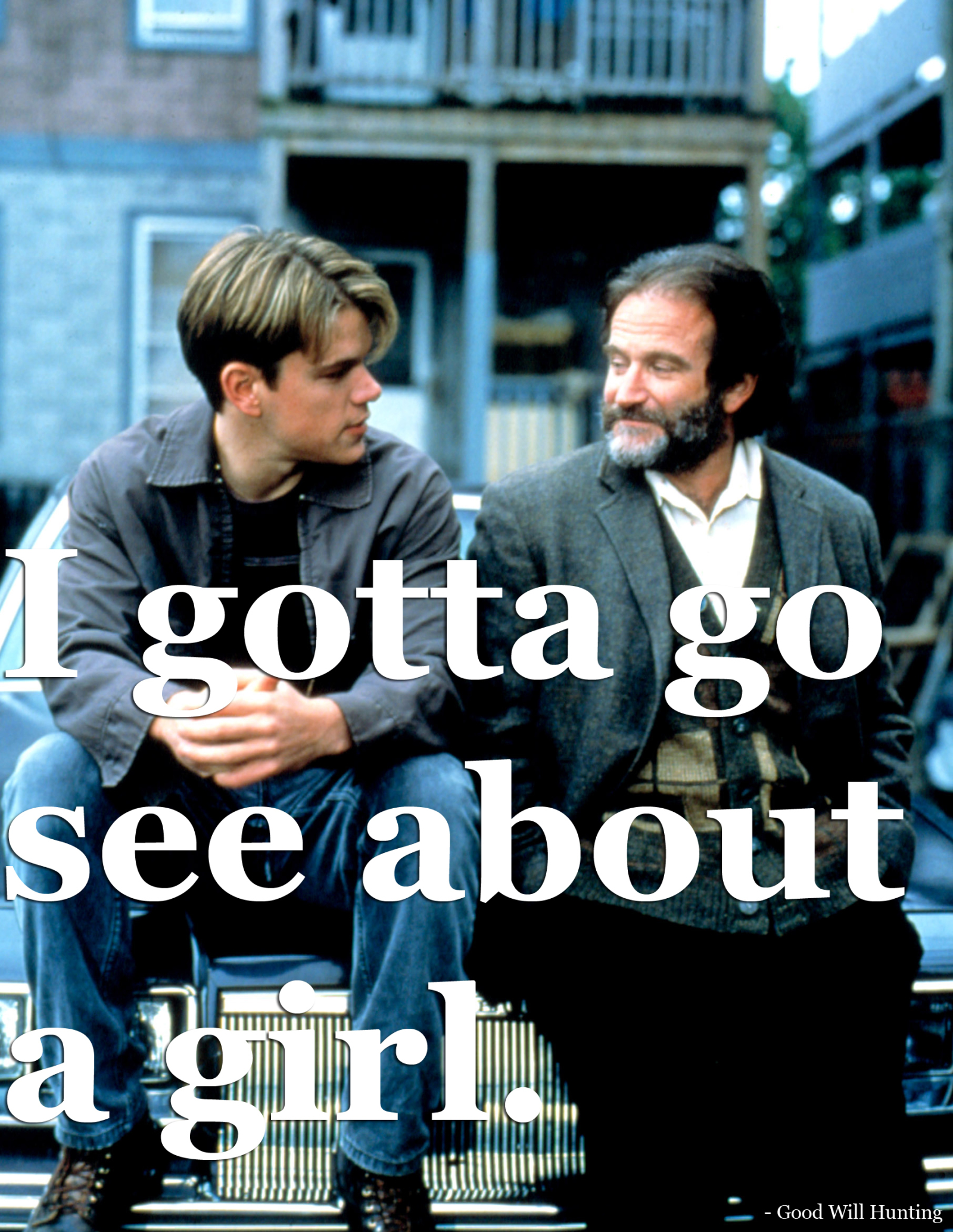 good will hunting movie themes Good will hunting themes intelligence on the surface, good will hunting is just a story about a really smart kid who doesn't know what he wants to do with his life.