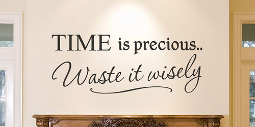 Wasting Time Quotes. QuotesGram