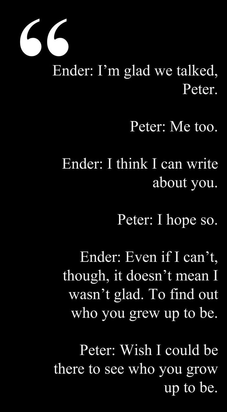 Criticism Is Not In The Play Book When You Re Too: Ender S Game Peter Quotes. QuotesGram