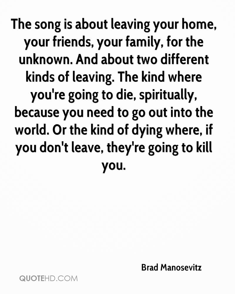 Quotes About Leaving Your Friends. QuotesGram