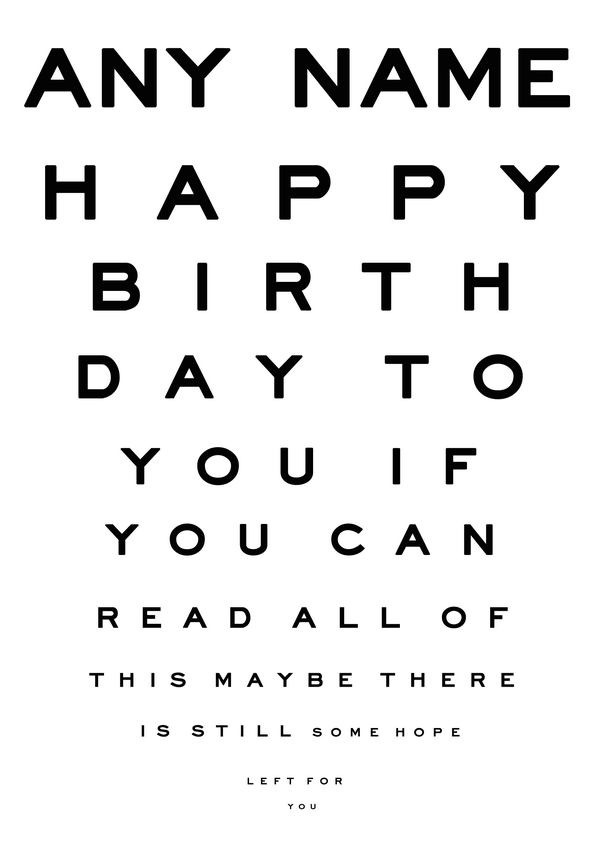 birthday quotes black eye. quotesgram, Birthday card