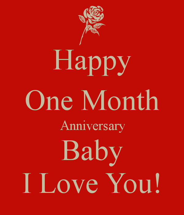 One Month Anniversary Quotes. QuotesGram