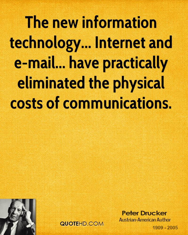 Famous Quotes About Technology In Education: Information Technology Quotes. QuotesGram