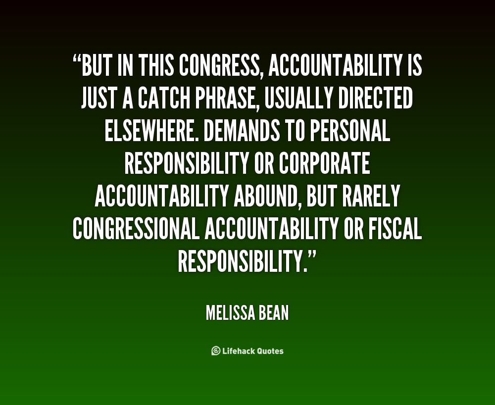 inspirational quotes about accountability  quotesgram