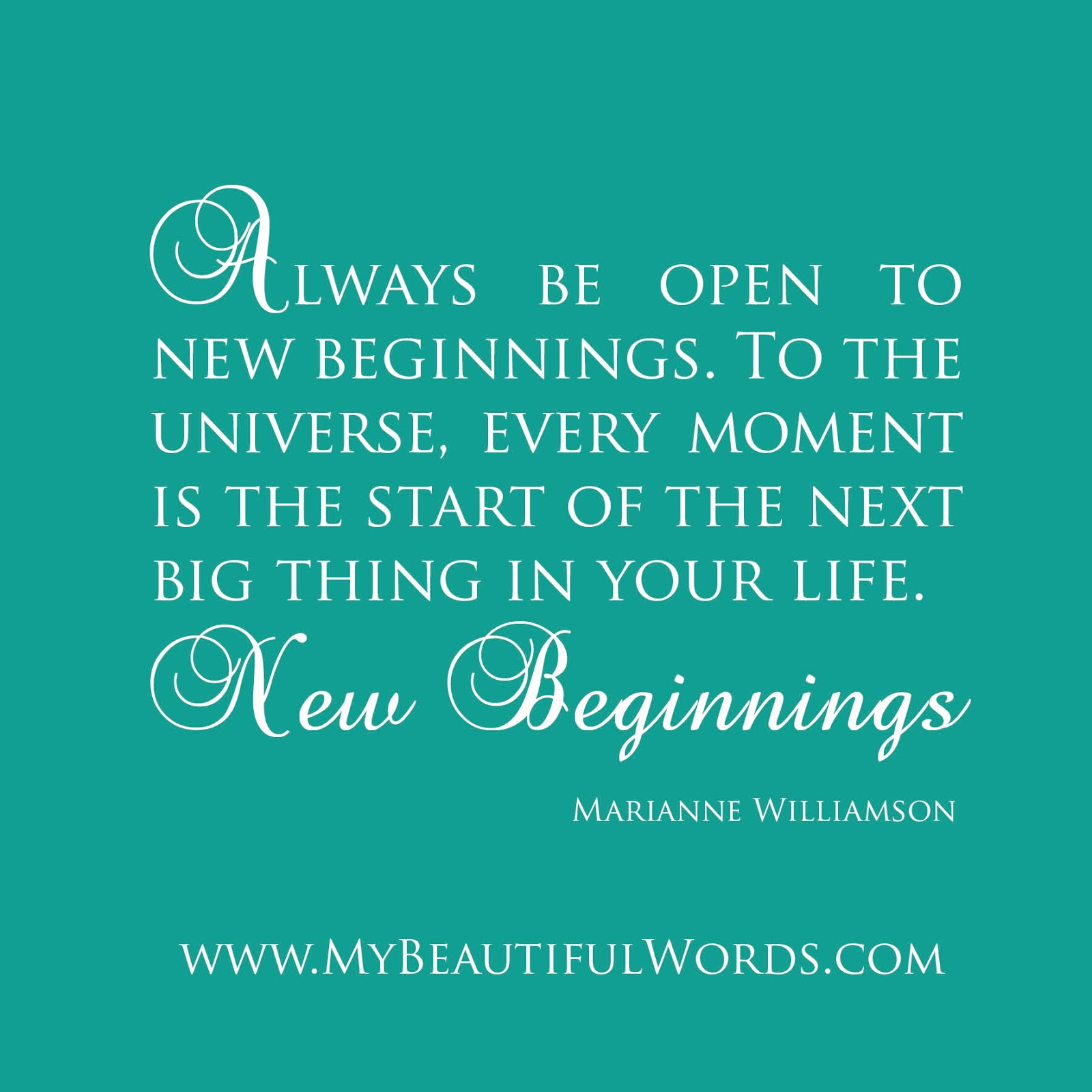 New Beginning Quotes Quotesgram: In Your Life New Beginnings Quotes. QuotesGram