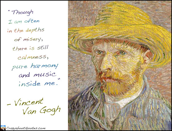 from van goghs suicide quotes  quotesgram