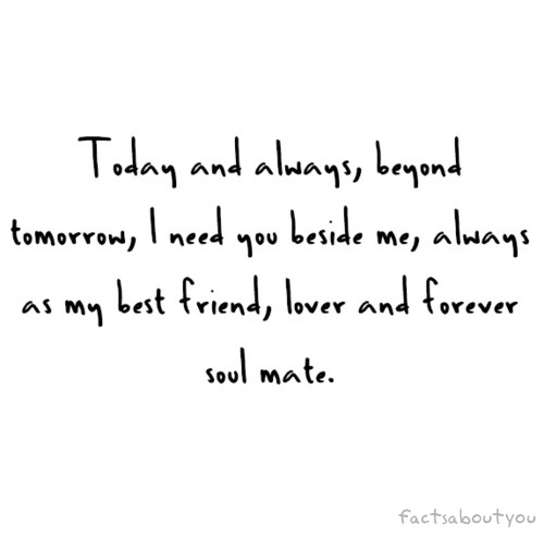 Forever soulmate are you my Soulmate Poems