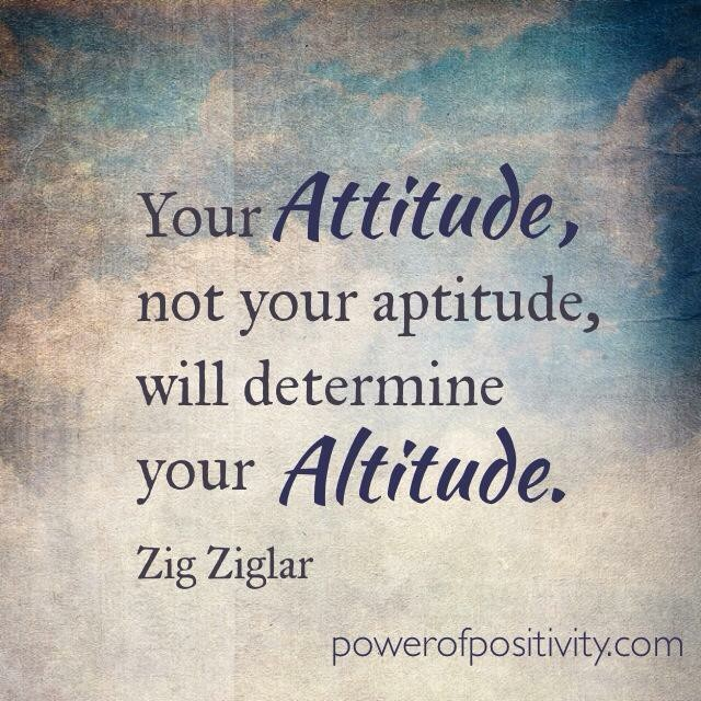 """essay attitude determines altitude Write two reflective essays (400-600 words) choose only two of the following quotes and each of the two quotes that you will choose will be the topic and the quote to reflect on for the essay -""""your attitude in life determines your altitude."""