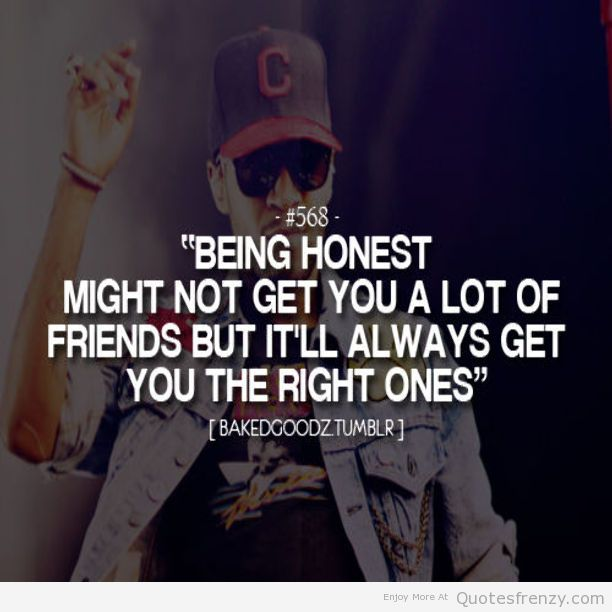 being honest quotes