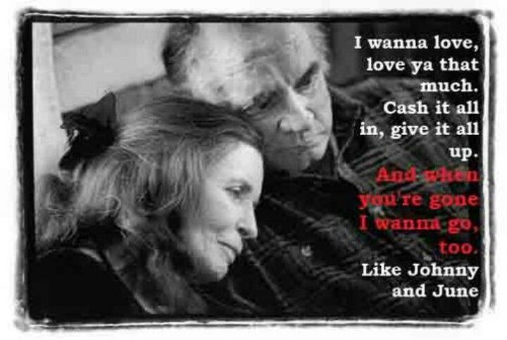 Johnny And June Love Quotes Quotesgram