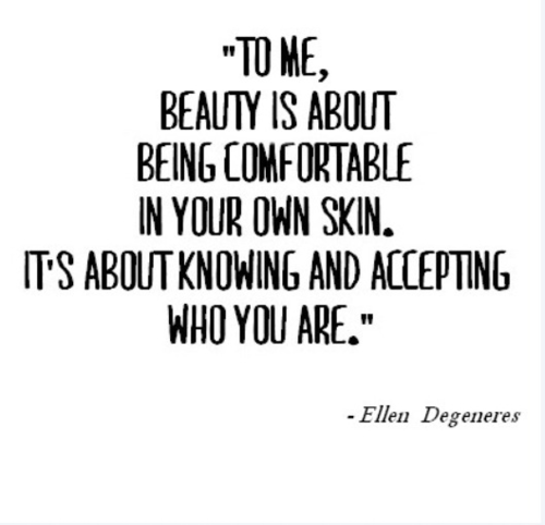 Quotes About Beauty: Positive Body Image Quotes. QuotesGram