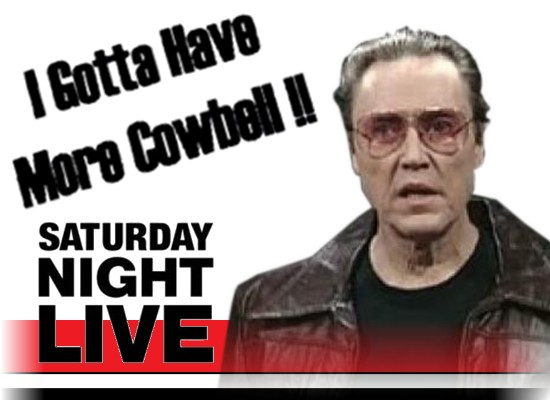 Christopher Walken Cowbell Quotes. QuotesGram |Christopher Walken Cowbell Quotes
