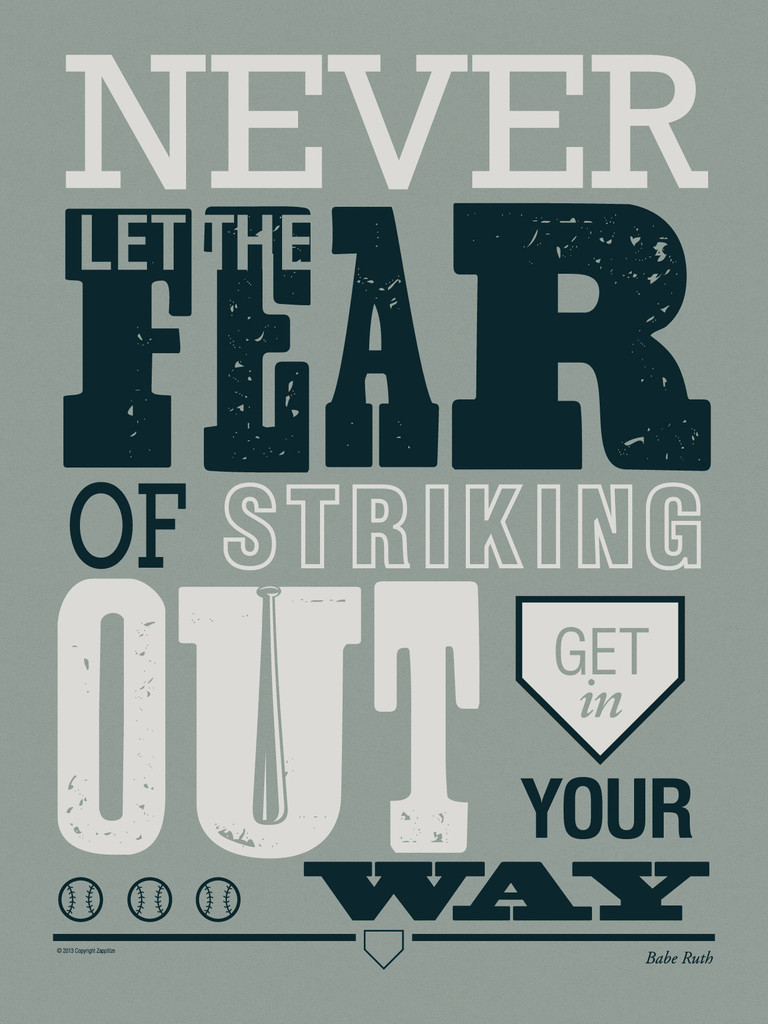 Quotes Babe Ruth Posters. QuotesGram