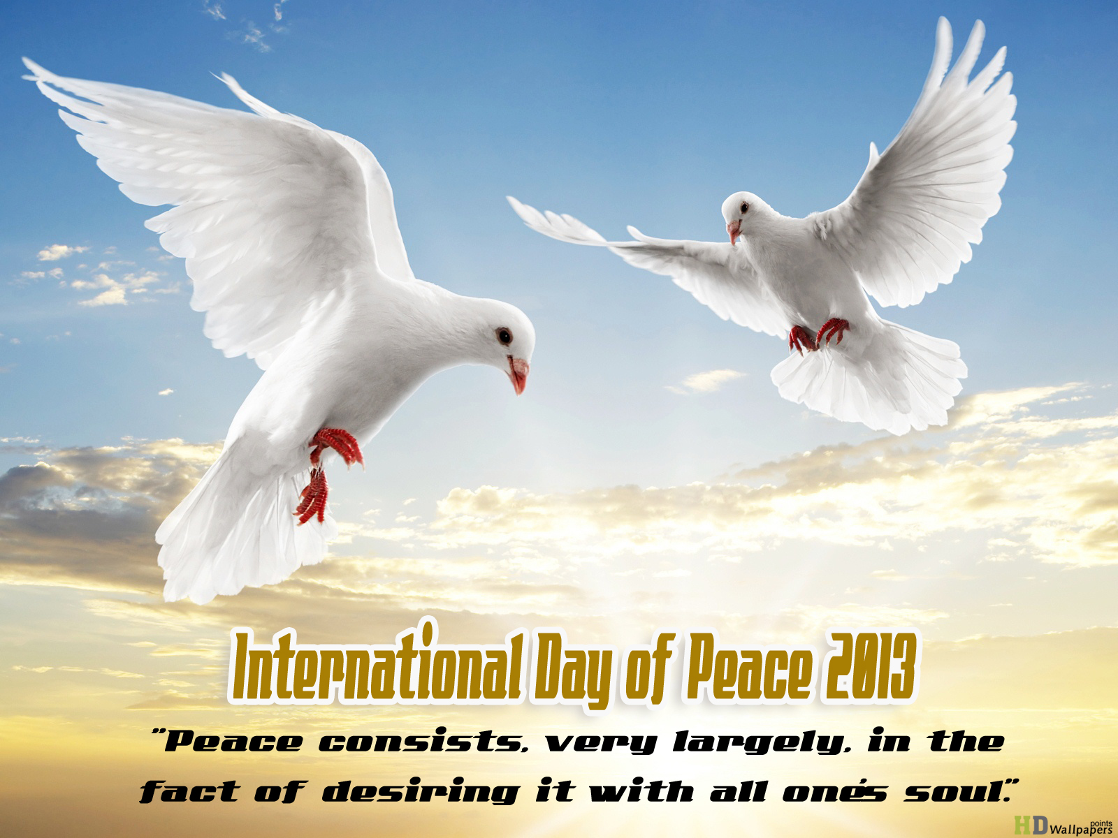 Quotes About World Peace Day: International Peace Quotes. QuotesGram