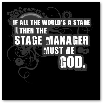 Stage Manager Quotes. QuotesGram