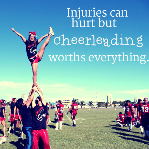 Quotes About Cheerleading Bases. QuotesGram