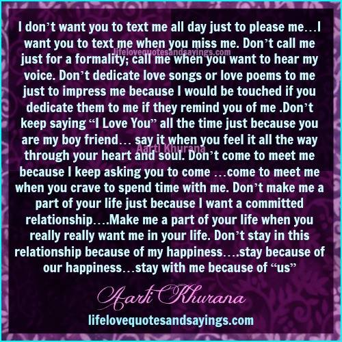 I Want Love Quotes: I Just Want You To Love Me Quotes. QuotesGram