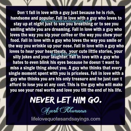 Love Quotes About Life: Never Let Go Love Quotes. QuotesGram